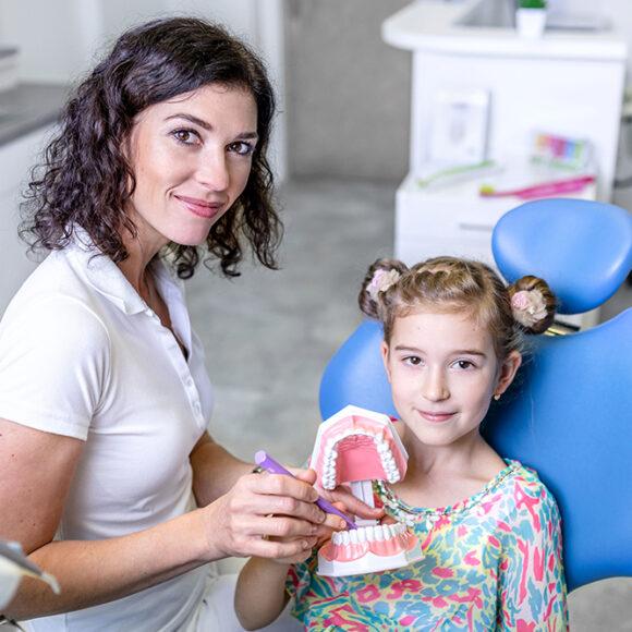 Instruktáž zubní hygieny